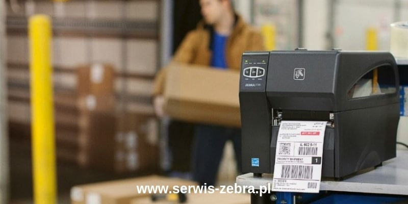 Zebra ZT200 drukarka przemysłowa